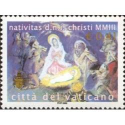 2003 Vaticano emissione per il Natale