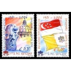 2006 Vaticano relazioni diplomatiche con Singapore (Joint Iusse)