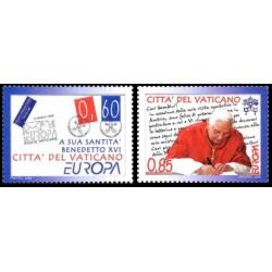 2008 Vaticano Emissione Europa