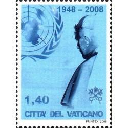 2008 Vaticano Visita del Papa all'ONU