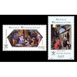 2008 Vaticano Emissione per il Natale Congiunta Germania (Joint Iusse)