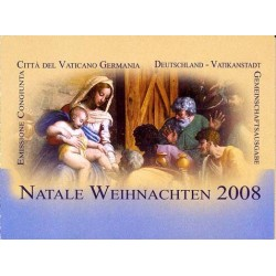 2008 Vaticano Emissione per il Natale - Libretto