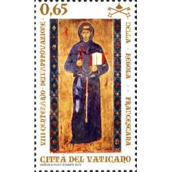 2010 Vaticano anniversario regola francescana