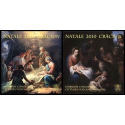 2010 Vaticano Emissione per il Natale - Libretti