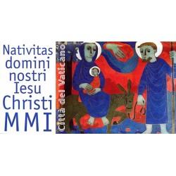 2001 Vaticano Libretto emesso per il Natale