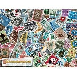 100 Francobolli Repubblica commemorativi tutti diversi