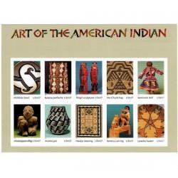 2004 Stati Uniti Arte degli Indiani d'America foglietto