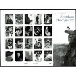 2002 Stati Uniti Fotografia americane minifoglio