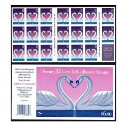 1997 Stati Uniti Concetto Amore minifoglio