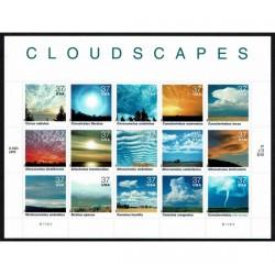 2004 Stati Uniti Le Nuvole foglietto