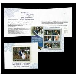 2018 Isle of Man royal wedding Meghan e Harry foglietto