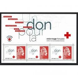 2018 Francia Foglietto Croce Rossa