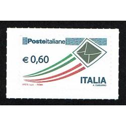 2009 Posta Italiana letterina che vola ordinaria 0,60€