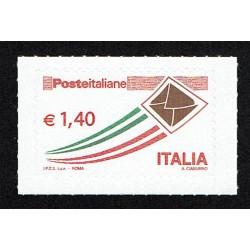 2009 Posta Italiana letterina che vola ordinaria 1,40€