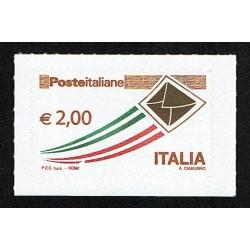 2009 Posta Italiana letterina che vola ordinaria 2,00€