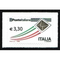 2009 Posta Italiana letterina che vola ordinaria 3,30€