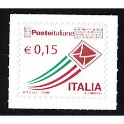 2015 Posta Italiana letterina che vola ordinaria 0,15€