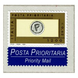 2000 Posta Prioritaria 0,62 stampa tipografica nuovo