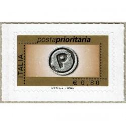 2007 Posta Prioritaria 0,80€ Rotocalco