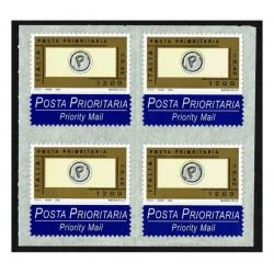 2000 Posta Prioritaria 0,62 stampa tipografica Quartina