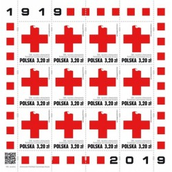2019 Polonia 100° Croce Rossa Polacca