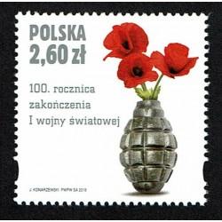 2018 Polonia 100° fine della I° Guerra Mondiale WWI