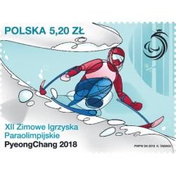 2018 Polonia XII Paraolimpiadi invernali PyeongChang