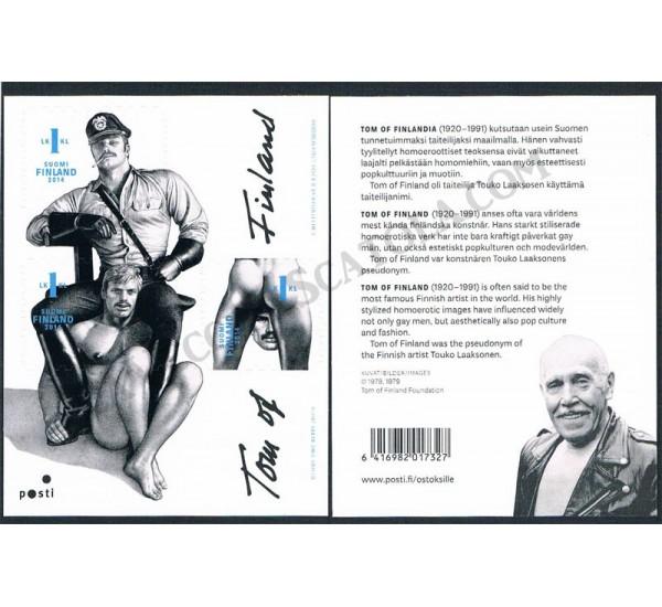 2014 Tom of Finland 1° foglietto tema omosessuale