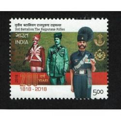 2018 India 3rd Battalion, Rajputana Rifles