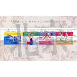 2008 Polonia Olimpiadi di Pechino - foglietto