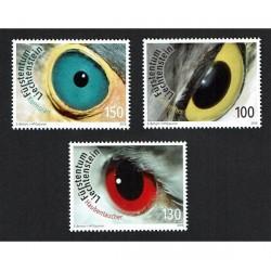 2018 Liechtenstein gli occhi degli uccelli