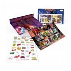 2019 Gran Bretagna Presentation Pack Marvel - Super Eroi