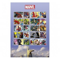 2019 Gran Bretagna Smiler 80° Marvel - Super Eroi