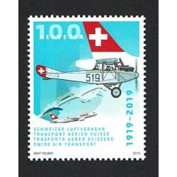 2019 Svizzera 100 anni trasporto aereo