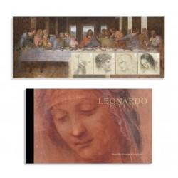 2019 Gran Bretagna 500° Leonardo da Vinci - Libretto Prestige