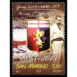 2013 San Marino Genoa cricket and football club