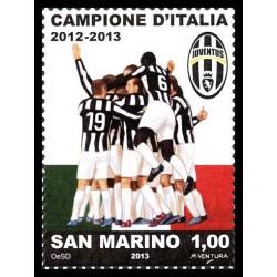2013 San Marino Juventus campione d'Italia 2012-2013