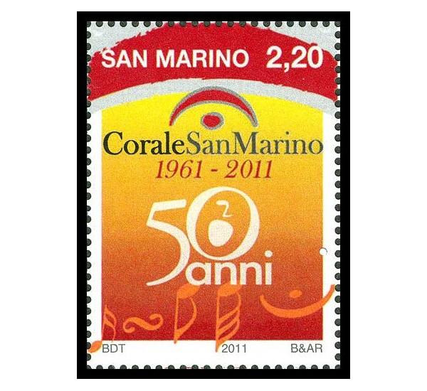 2011 San Marino 50º anniversario della Corale