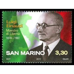 2011 San Marino anniversario di Luigi Einaudi