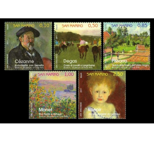 2011 San Marino Storie di pittura in Francia