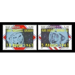2011 San Marino primi uomini nello spazio