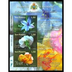 2011 San Marino Fiori dedicati