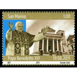 2011 San Marino Visita del Papa
