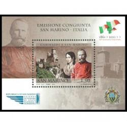 2011 San Marino cittadinanza onoraria Giuseppe Garibaldi