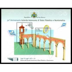 2011 San Marino azienda autonoma di stato filatelica e numismatica