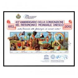 2012 San Marino patrimonio mondiale Unesco