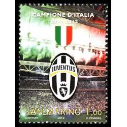 2012 San Marino Juventus campione d'Italia 2011-2012