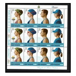 2012 San Marino Olimpiadi di Londra Minifoglio