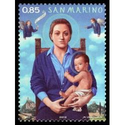 2012 San Marino Emissione per il Natale