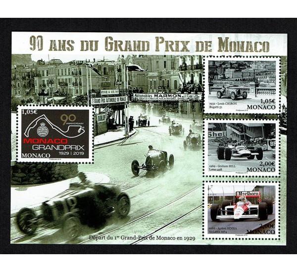 2019 Monaco 90 anni Gran Premio GP F1